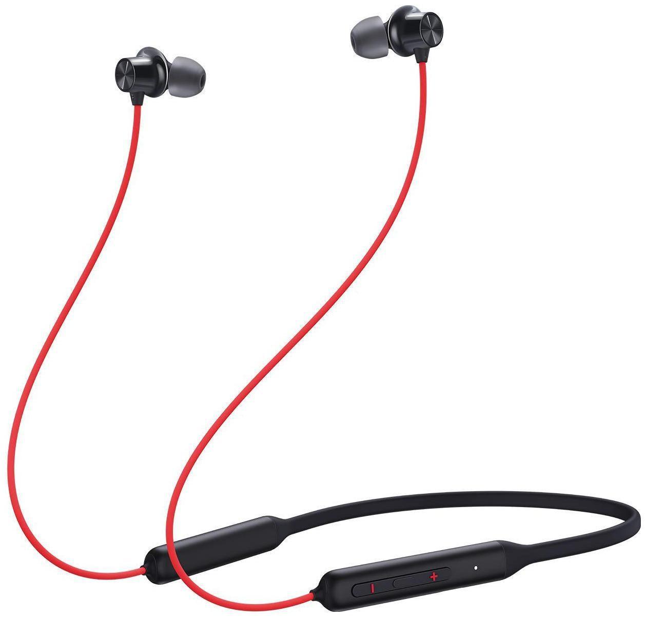 OnePlus Bullets Wireless Z In-Ear Bluetooth Headset ( Red )