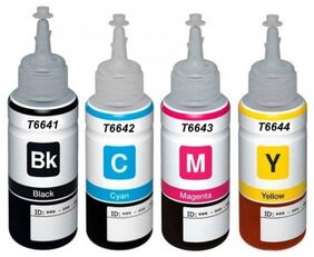 ORIGINALS L100,L110,L200,L220,L350 Multi Color Ink  (Black, Yellow, Magenta, Cyan)