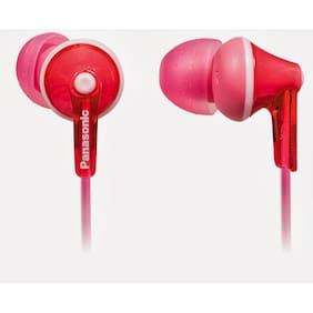 Panasonic RP-TCM125E-P In-the-ear Wired Headphone (PINK)