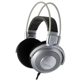 Panasonic RP-HTF890-S Wired Over Ear Headphone (Silver)