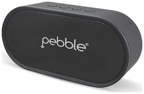 Pebble BassX Prime - Bluetooth Speaker with Heavy Bass Stereo Sound & Built-in Mic