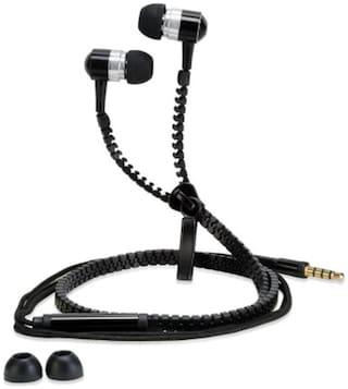 Pebble ZipBeat Tangle In Ear Earphone (Black)