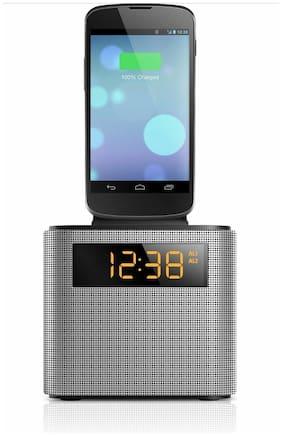 Philips AJT3300 Lightning iPhone iPod microUSB Dock Bluetooth Alarm Clock Radio