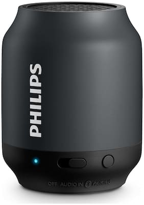 Philips BT50B Bluetooth Portable Speaker ( Black )