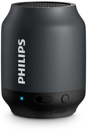 Philips Bt50b Portable Bluetooth Speaker ( Black )