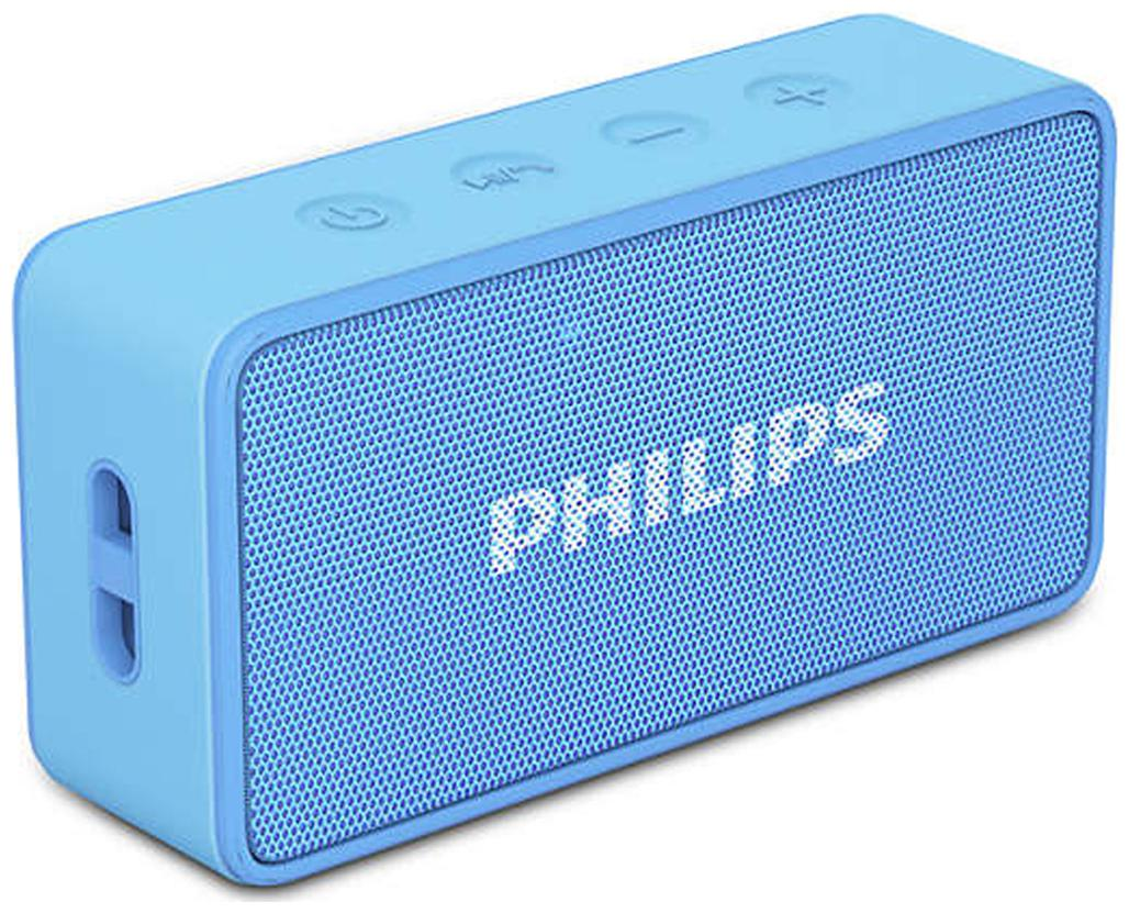 Philips BT64A Portable Bluetooth Speaker   Blue