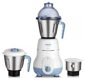 Philips HL1643/04 600 W Mixer Grinder (Blue/3 Jar)