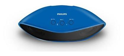 Philips IN-BT4200A/94 Wireless Bluetooth Speaker (Blue)