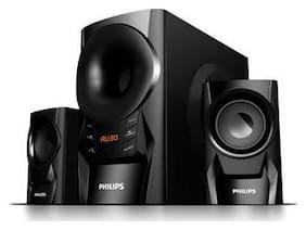 Philips MMS 6080 B 2.1 Bluetooth Speaker ( Black )
