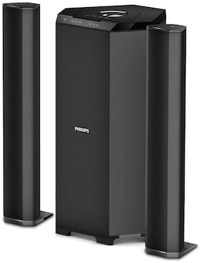 Philips Mms8085b/94 2.1 Tower speaker