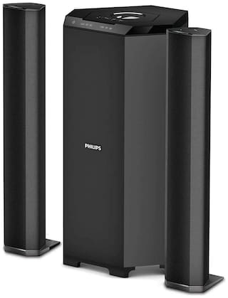 Philips MMS8085B/94 2.1 Channel Tower Speaker
