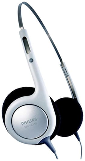 Philips SBCHL140 On-ear Wired Headphone ( Grey )