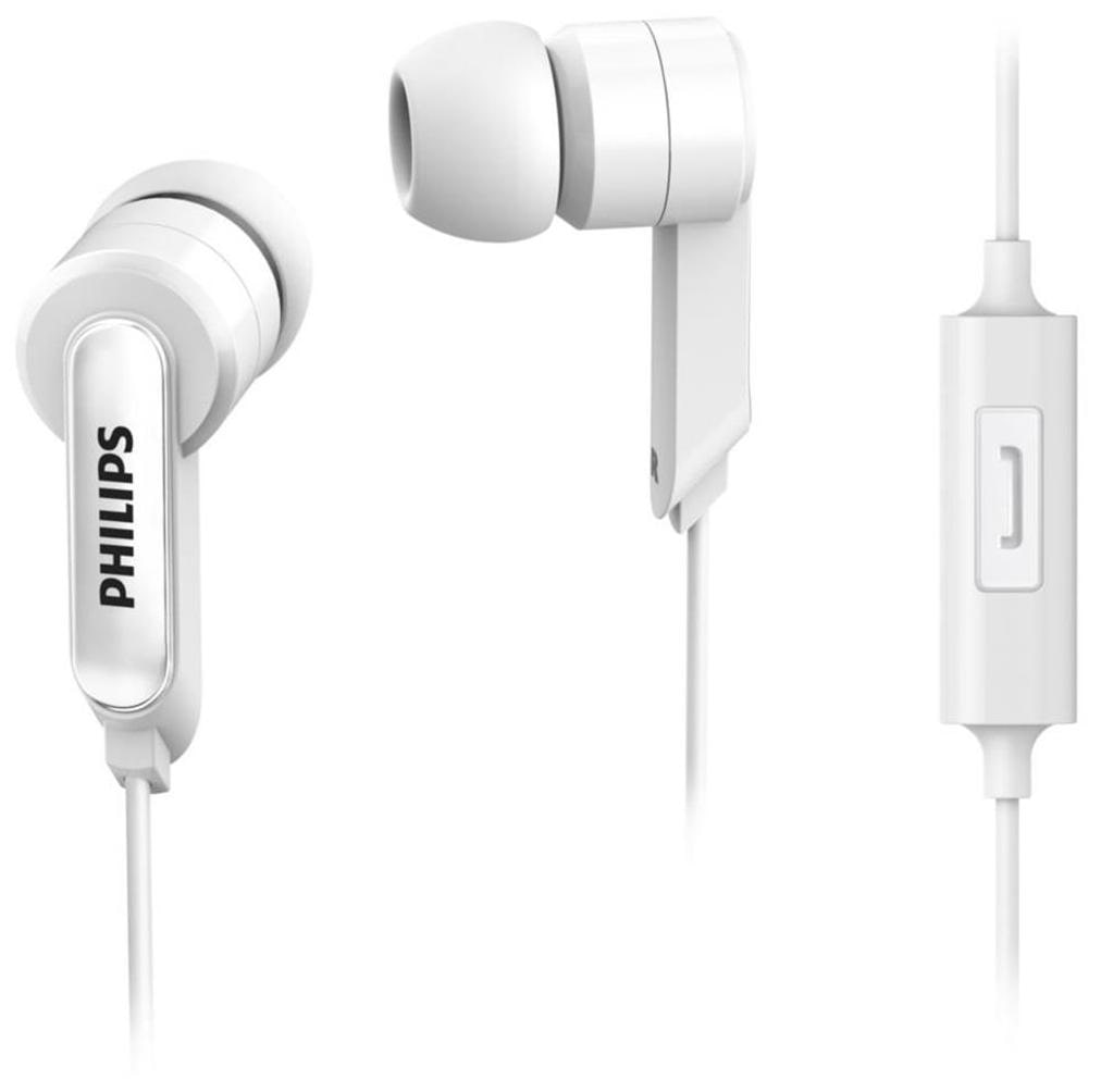 Philips SHE1405 Wired In Ear Earphone (White)