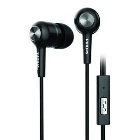 Philips SHE1505BK In Ear Earphone (Black)