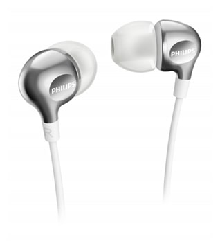 Philips SHE3700WT In Ear Earphone (White)