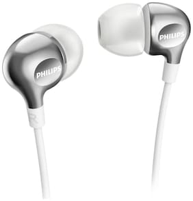 Philips SHE3700WT/00 In-Ear Wired Headphone ( Silver )