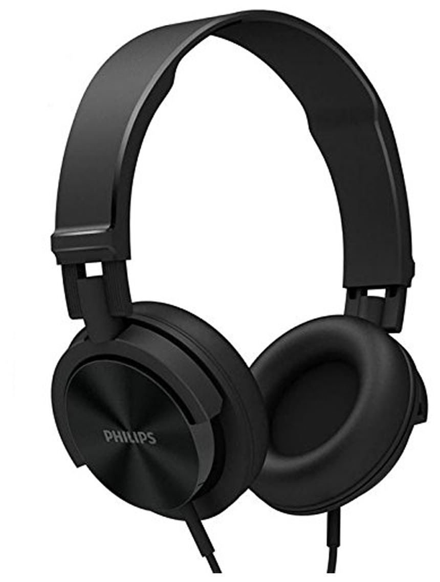 Philips SHL3095BK/94 Wired Over Ear Headphone (Black)