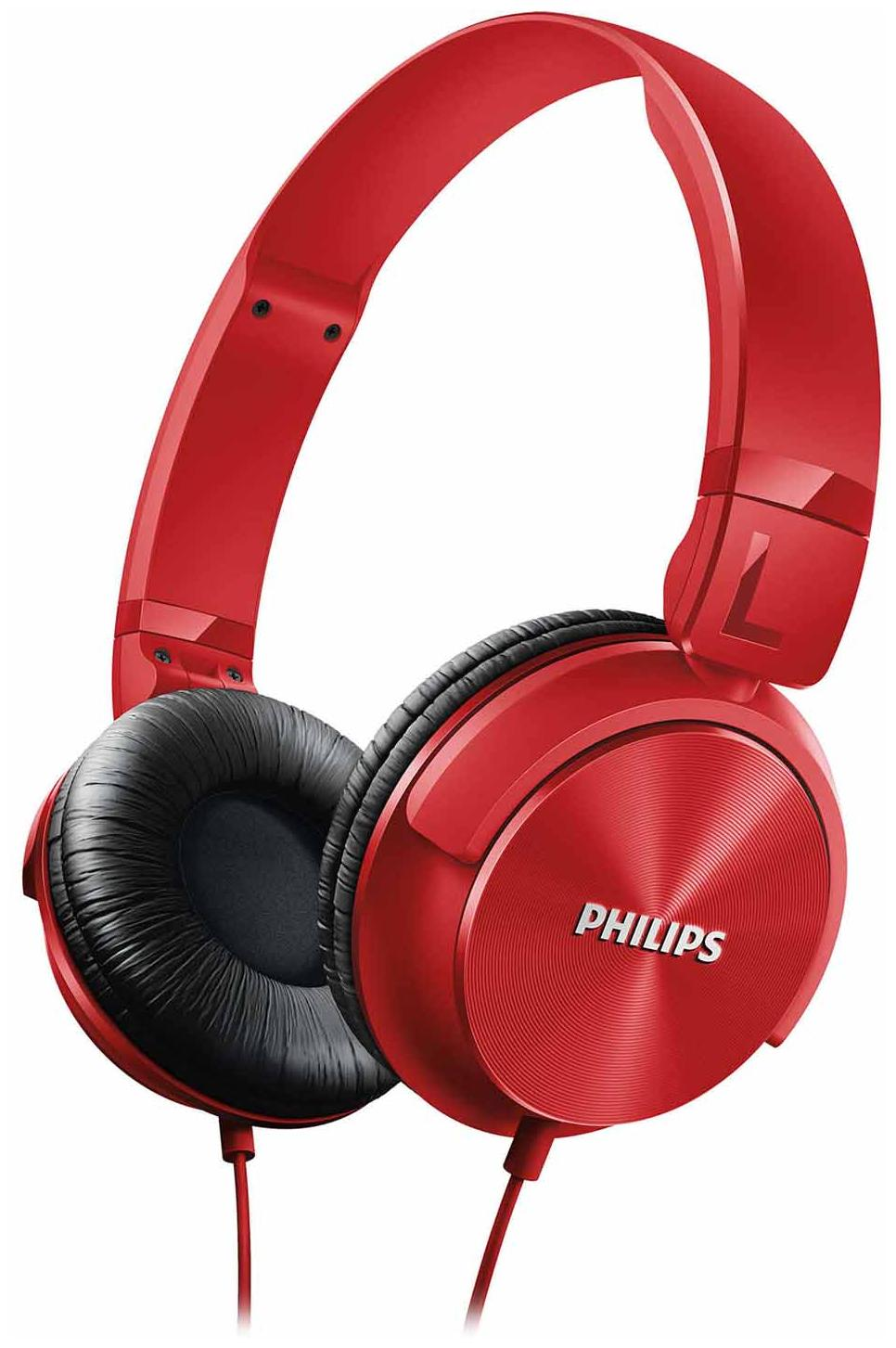 Philips SHL3060RD/00 Wired On Ear Headphone (Red)