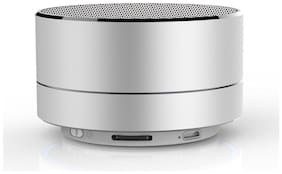 Pickadda A10 Bluetooth Portable Speaker ( Silver )