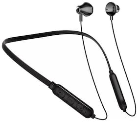 Pickadda BT1 Neckband with 5 Hrs Battery In-Ear Bluetooth Headset ( Black )