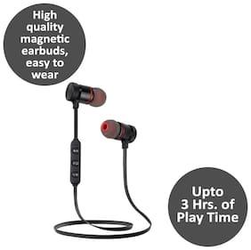 Pickadda Magnetic_BT In-Ear Bluetooth Headset ( Black )