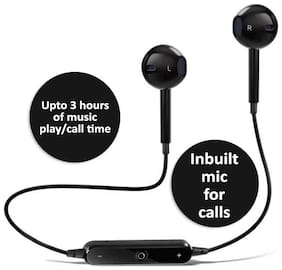 Pickadda S6-BT In-Ear Bluetooth Headset ( Black )