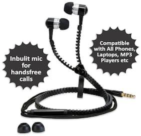 Pickadda In-Ear Wired Headphone ( Black )