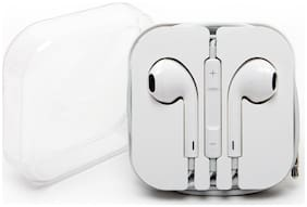 PICKMALL 433 In-Ear Wired Headphone ( White )