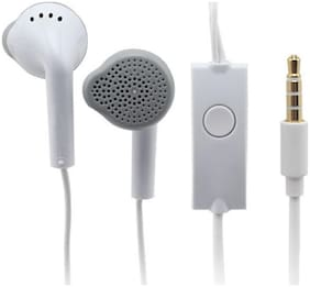 PICKMALL Samsung13 In-Ear Wired Headphone ( White )