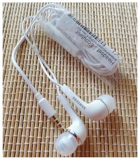 PICKMALL Samsung72 In-Ear Wired Headphone ( White )