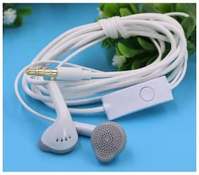 PICKMALL Samsung4 In-Ear Wired Headphone ( White )
