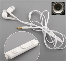 PICKMALL Samsung23 In-Ear Wired Headphone ( White )