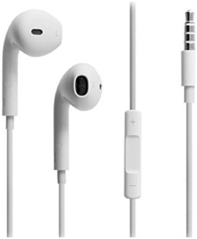 Pickmall In Ear White Earphones