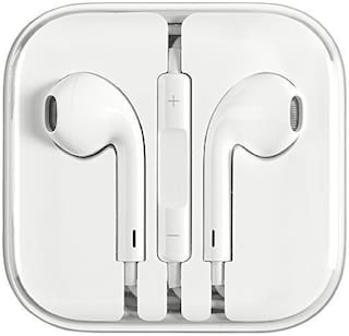 PICKMALL 417 In-Ear Wired Headphone ( White )