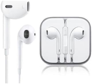PICKMALL 419 In-Ear Wired Headphone ( White )