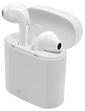 PICKMALL I7s -Tws In-Ear Bluetooth Headset ( White )