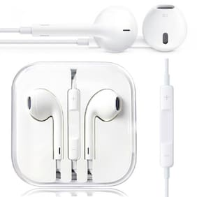Plus Shine ip-earphone In Ear Headphone (White)