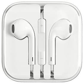 Plus shine i-earp In-Ear Wired Headphone ( White )