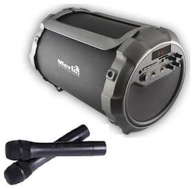 Merlin Bluetooth Portable speaker ( Silver )