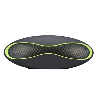 Tech Gear Portable Wireless Bluetooth Stereo Fm Speaker For Smartphone Tablet(Green)