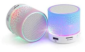 Portable Wireless Bluetooth Speaker with Memory Card & USB Support (Assorted)