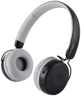 Portronics Muffs M POR-1073 Over-Ear Bluetooth Headset ( Grey )