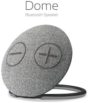 Portronics DOME POR-685 Bluetooth Portable Speaker ( Grey )