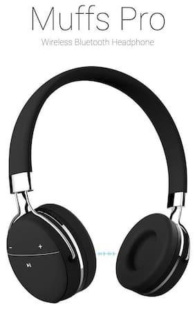 Portronics Muffs Pro POR-645 Over-Ear Bluetooth Headset ( Black )