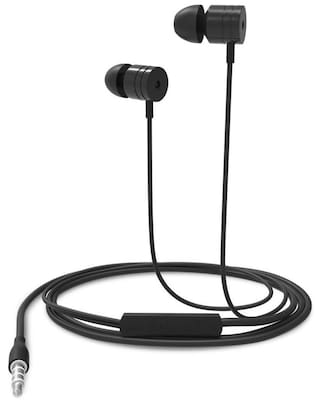 Portronics Por-763 In-ear Wired Headphone ( Black )