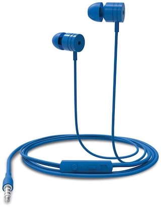 Portronics Por-767 In-ear Wired Headphone ( Blue )