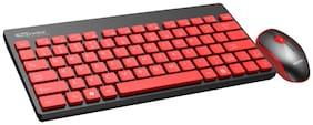 Portronics Por-372 Wireless Keyboard & Mouse Set ( Black )