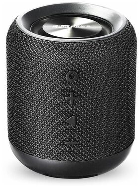 Portronics POR 871 Sound Drum Bluetooth 4.2 Stereo Speaker with FM Tuner, 3.5mm AUX, Powerful 10W Sound, In-built Mic and Pen Drive.