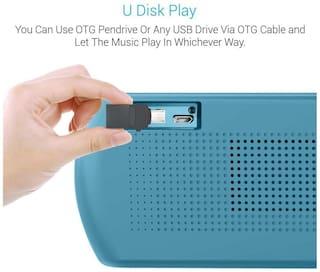Portronics POR-780 Bluetooth Speaker (Sky Blue)