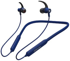 Portronics POR-1186 In-Ear Bluetooth Headset ( Blue )